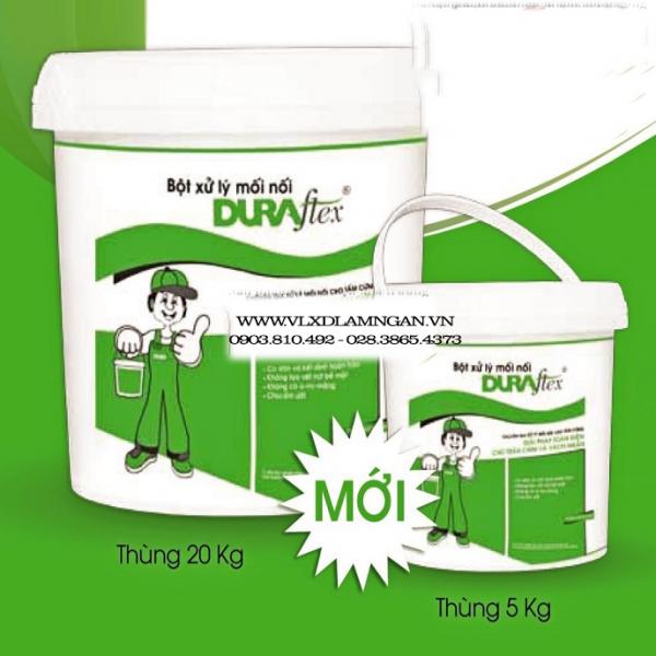 Keo Duraflex giúp tấm Dura bền hơn.