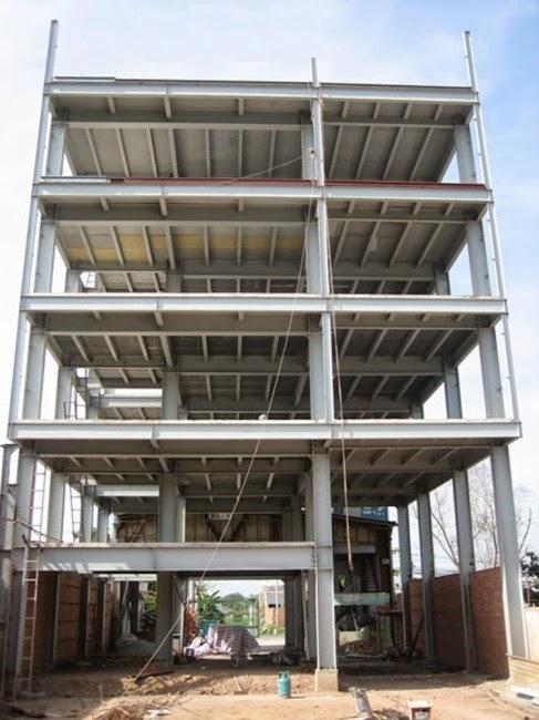 Thi công nhà 4 tầng bằng tấm xi măng