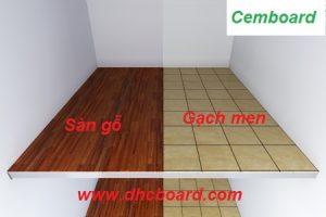 Hướng dẫn lát gạch men lên tấm sàn Duraflex Vĩnh Tường
