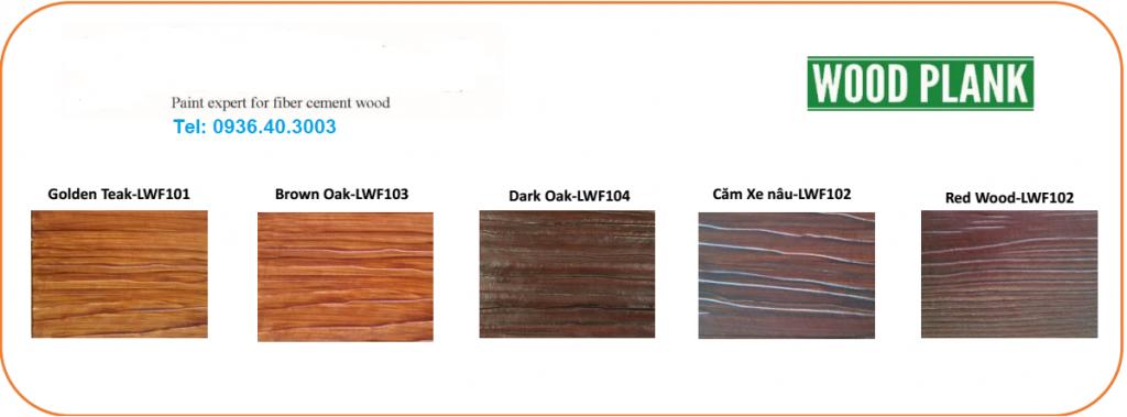 Sơn giả gỗ Lotus màu giống như gỗ thật