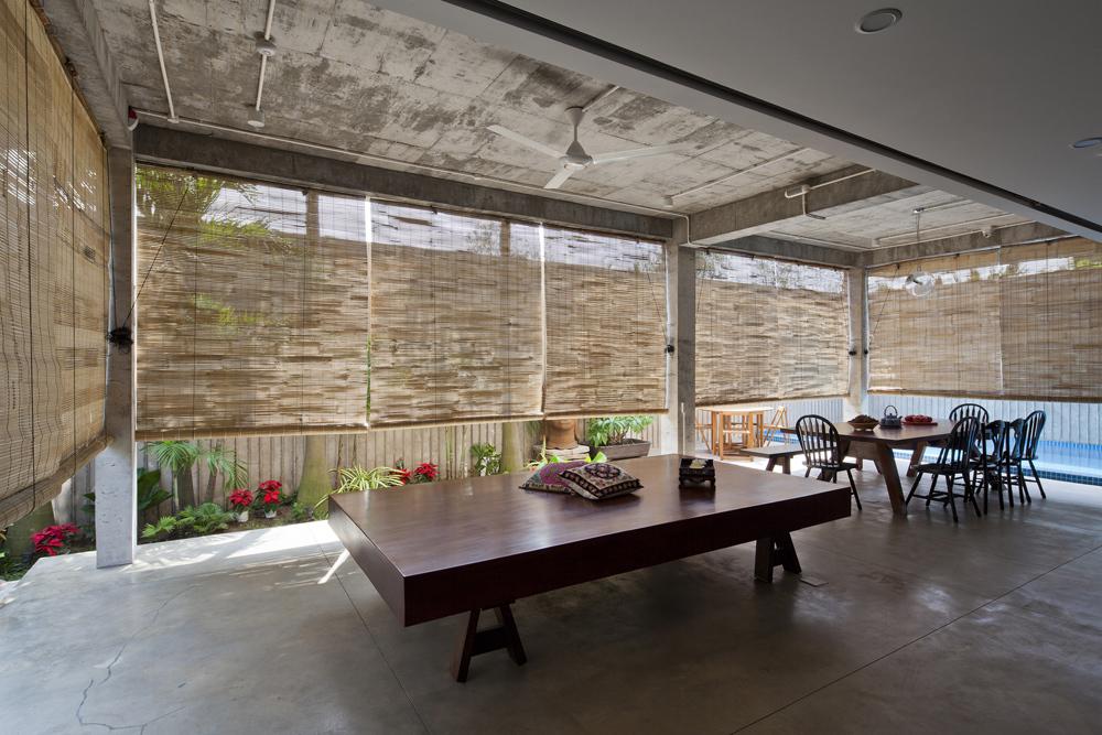 Lót sàn nhà đẹp bằng tấm xi măng dăm gỗ smileboard