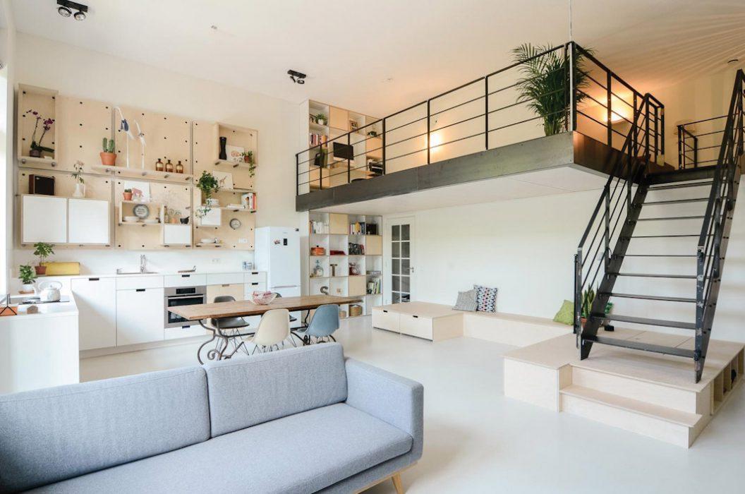 Sử dụng tấm cemboard xây nhà giúp không gian mở rộng hơn