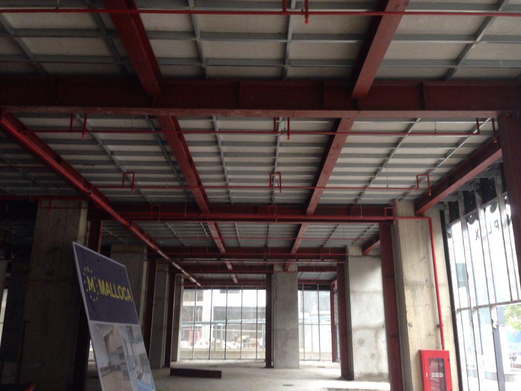 Thi công sàn nhẹ bằng tấm xi măng Duraflex (3)
