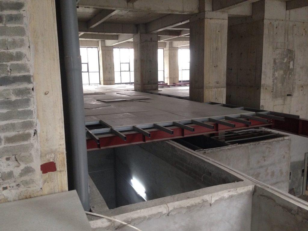 Thi công sàn nhẹ bằng tấm xi măng Duraflex (5)
