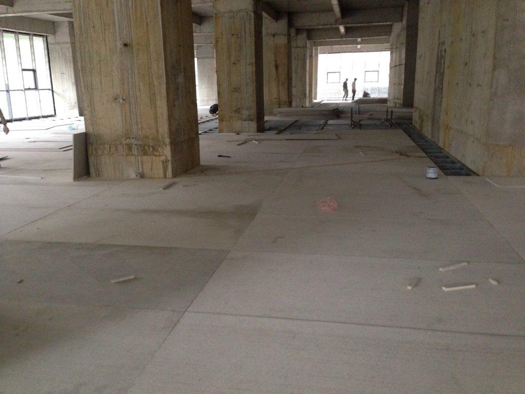 Thi công sàn nhẹ bằng tấm xi măng Duraflex (9)