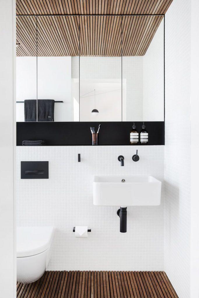 Nhà vệ sinh thoáng đãng sạch đẹp