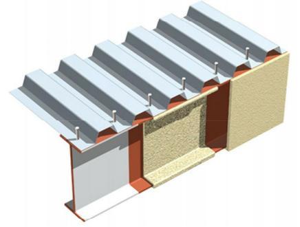 Sàn Deck kết hợp trong việc đổ sàn với nhà khung thép