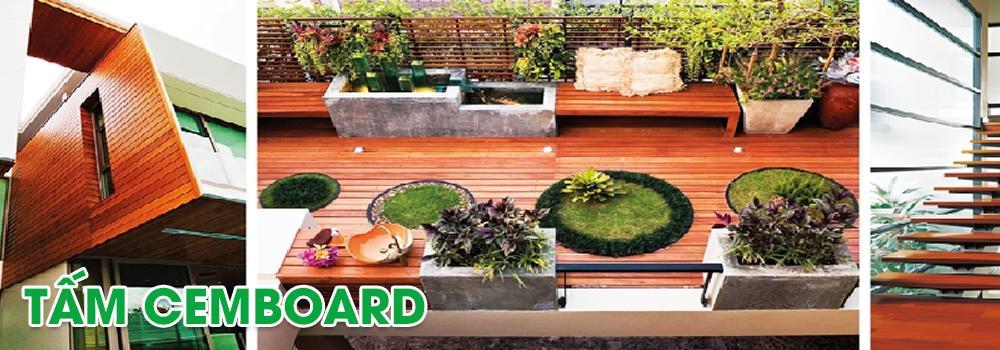 Tấm xi măng gỗ nhân tạo conwood - Smartwood Thái Lan