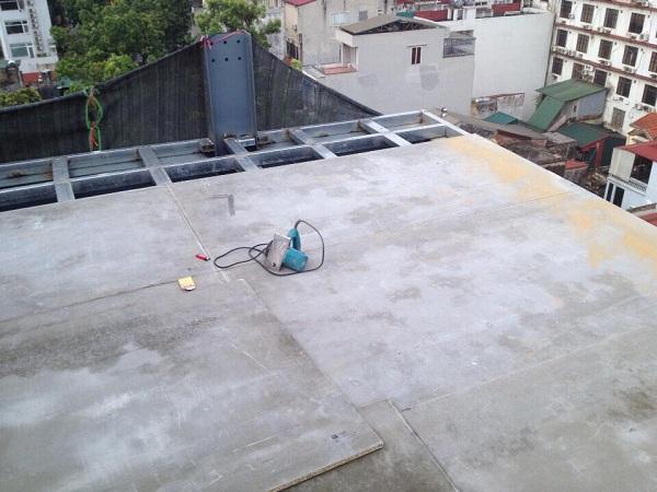 Thi công sàn gác xép, gác lửng giá rẻ tại Hà Nội 2018.