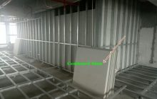 Thi công tấm cemboard Vĩnh Tường làm sàn nhẹ, vách ngăn chịu nước.