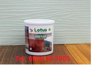 Sơn lotus chuyên dùng cho thanh xi măng smartwood