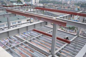 Cải tạo nâng thêm tầng nhà bằng tấm xi măng Cemboard