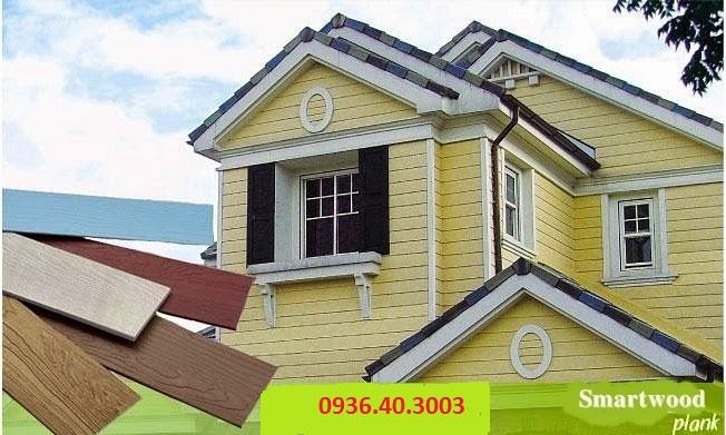 Ốp tường gỗ ngoài trời mang lại vẻ đẹp sang trọng cho ngôi nhà bạn