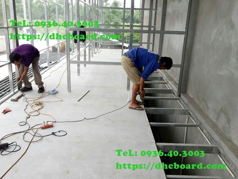 Tấm sàn bê tông nhẹ cemboard có độ bền tuổi thọ trên 30 năm.