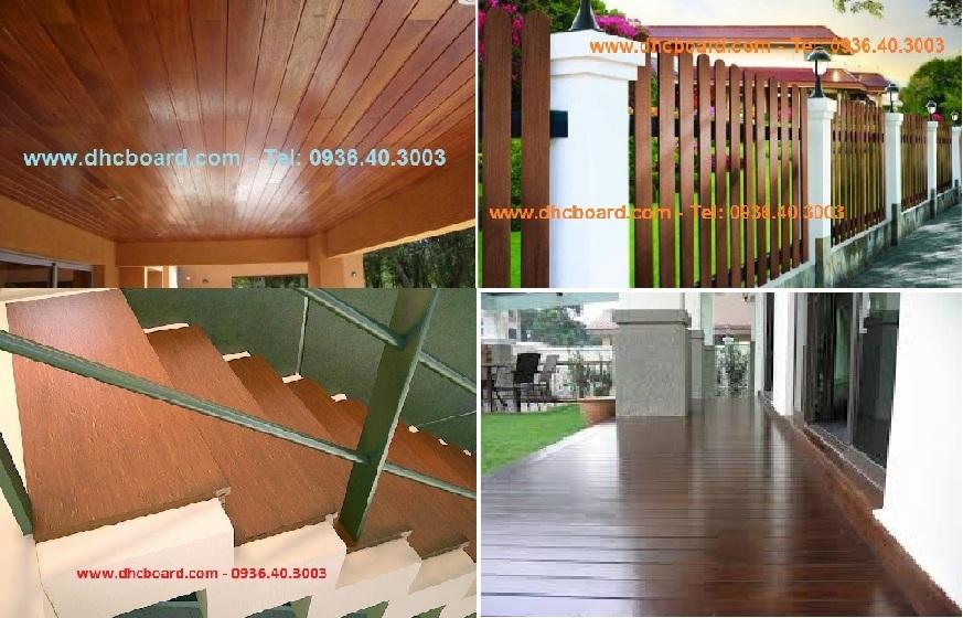 Gỗ nhân tạo Conwood - Smartwood Thái Lan