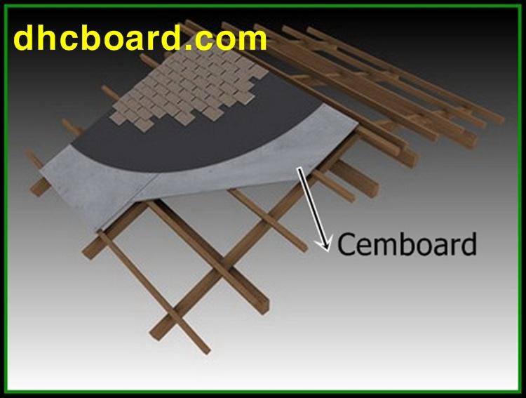 Tấm cemboard vật liệu đa năng nhất hiện nay làm được trần vách sàn nhẹ.