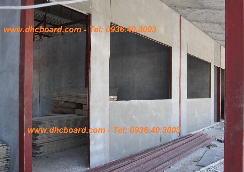 Sử dụng tấm xi măng Duraflex Vĩnh Tường làm vách ngăn.