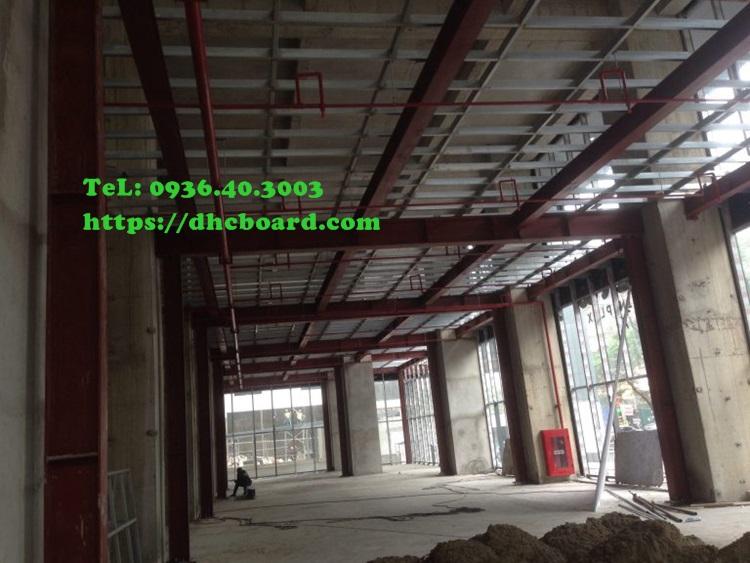 Hệ kết cấu sàn nhẹ làm sàn chịu lực của trung tâm thương mại