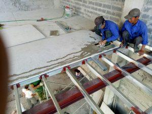 Chi phí xây nhà bằng tấm xi măng cemboard
