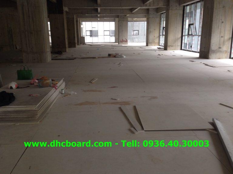 Tấm sàn bê tông nhẹ làm sàn chịu lực tại Hà Nội.