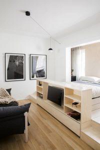 Nhà ở 22m2 vẫn ở thoải mãi nhờ phong cách thiết kế thông minh