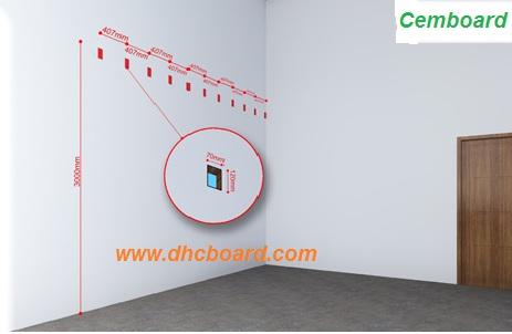 Tấm sàn xi măng cemboard Duraflex có độ chịu lực cao, không mối mọt.