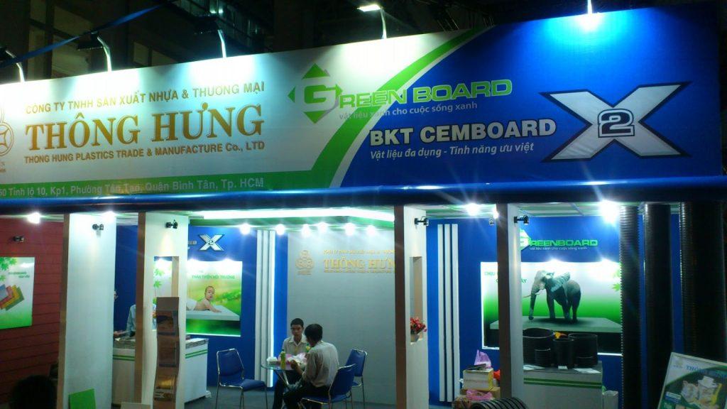 Thông hưng chuyên sản xuất tấm cemboard Việt Nam