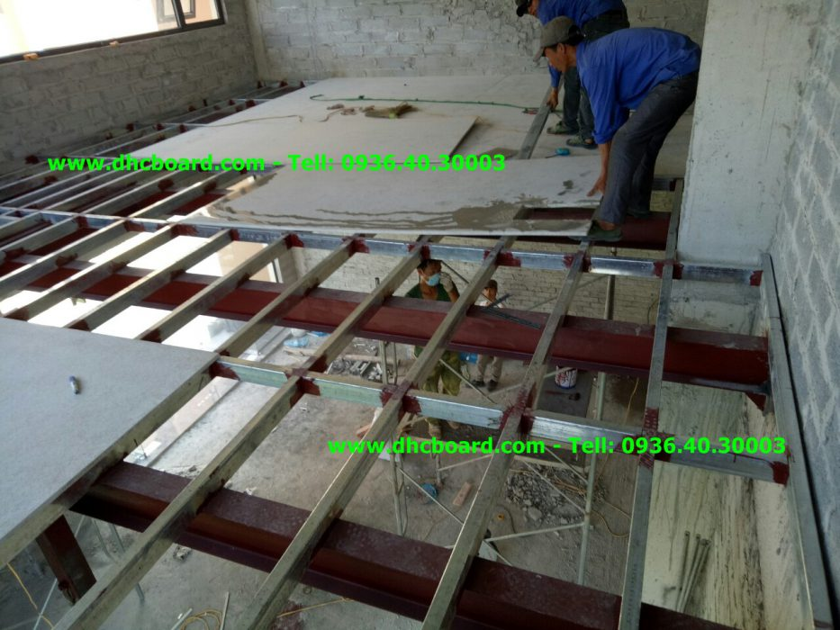 Tiết kiệm chi phí xây nhà bằng tấm bê tông nhẹ đúc sẵn cemboard.