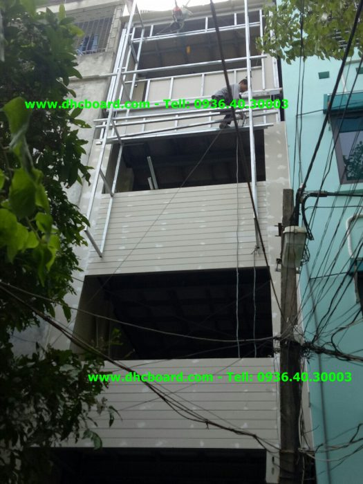 Thi công tấm xi măng cemboard giá rẻ chất lượng tại Hà Nội