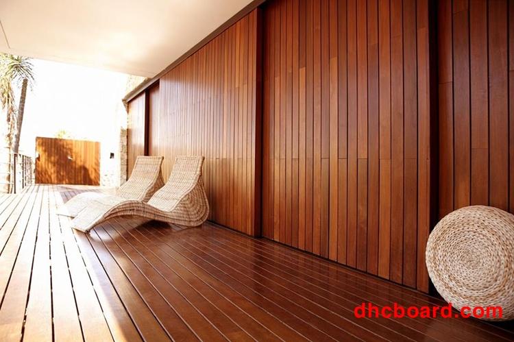 Gỗ nhân tạo Durawood đẹp bền hơn gỗ tự nhiên