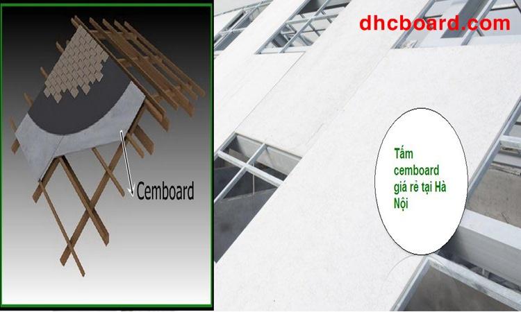 Giảm trọng tải của mái nhà thay tấm đan bê tông nặng nề
