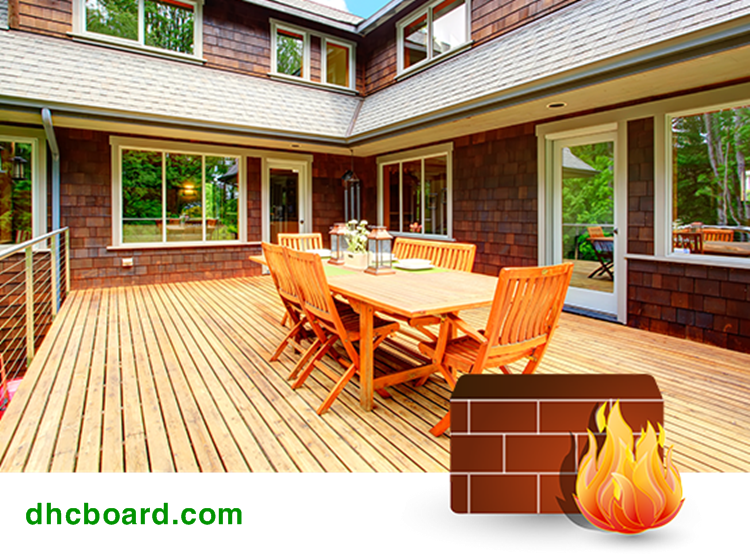 Vật liệu giả gỗ không cháy được sử dụng nhiều nhất hiện nay.