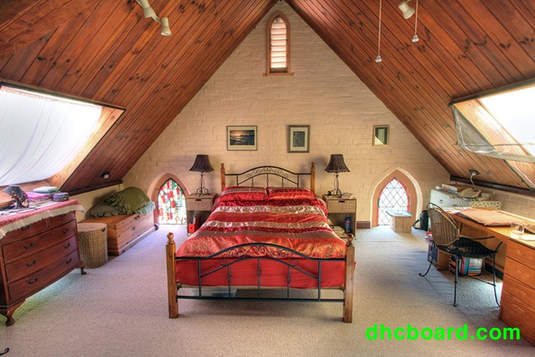 Trần gỗ quá đẹp khi được làm bằng tấm xi măng giả gỗ Durawood mang cả thiên nhiên vào nhà bạn.
