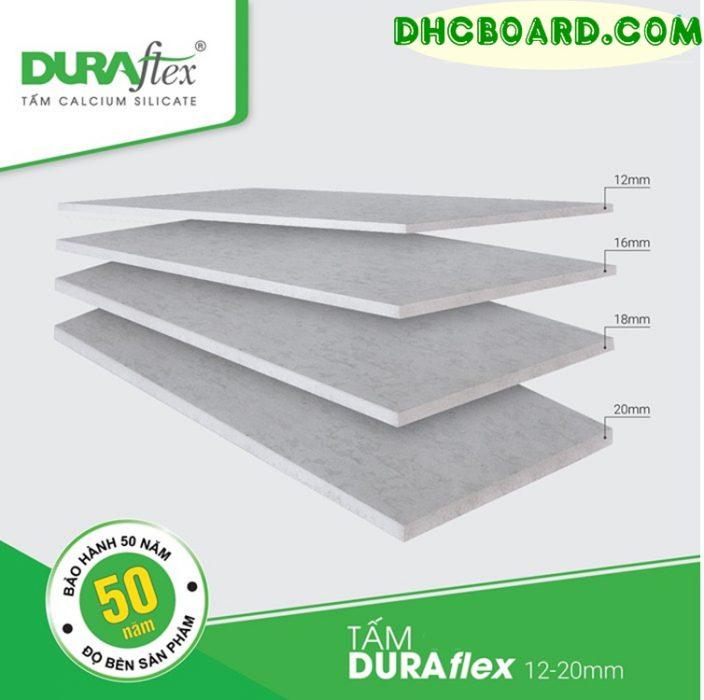 Tấm cemboard Duraflex vật liệu nhẹ số 1 thị trường làm sàn nhẹ, vách ngăn chịu nước.