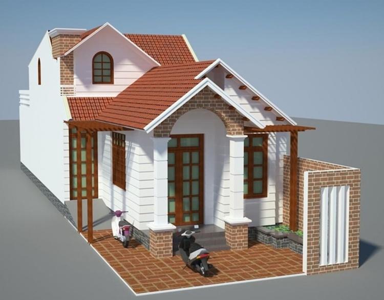 Mấu nhà lắp ghẹp đẹp bằng vật liệu nhẹ rất đẹp và sang trọng
