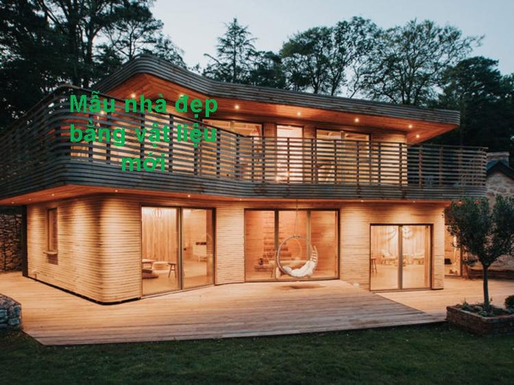 Xây nhà giá rẻ bằng vật liệu nhẹ siêu bền