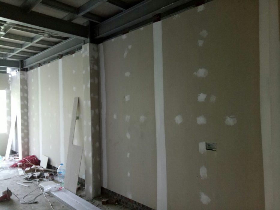Vách ngăn chịu nước bằng tấm tường bê tông nhẹ cemboard