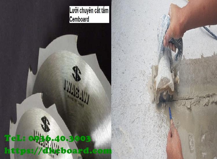 Kỹ thuật cắt tấm sàn bê tông nhẹ cemboard rất đơn giản.