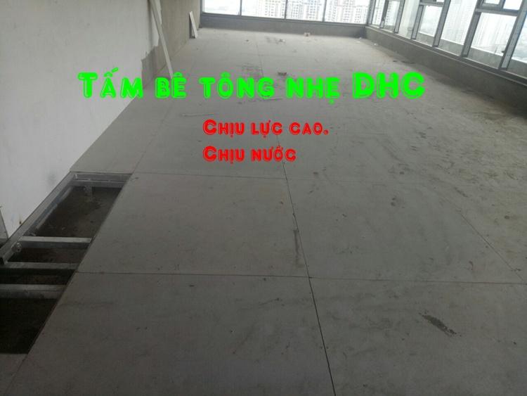 Khả năng chịu lực cao nên tấm bê tông nhẹ cemboard là lựa chọn số 1 để làm sàn nhà nhẹ.