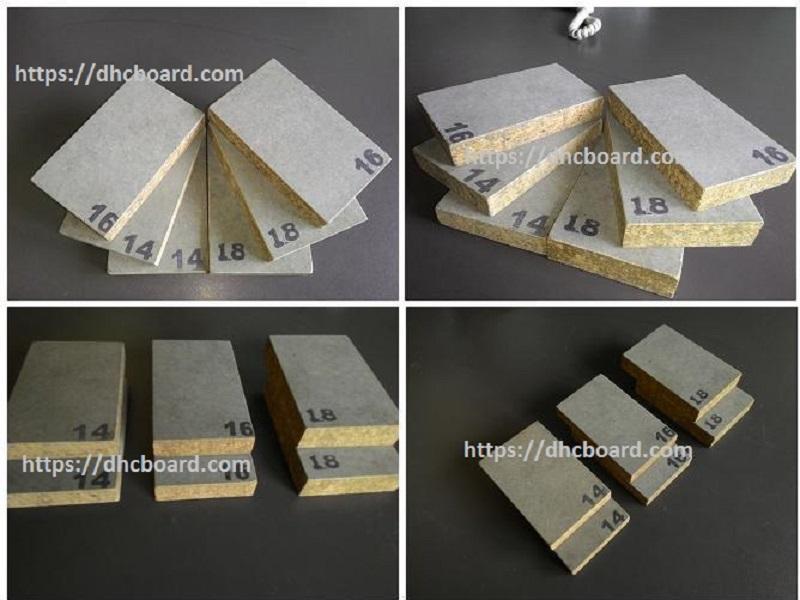 Sàn bê tông nhẹ Cemboard dăm gỗ