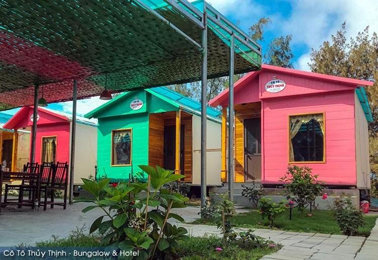 Nhà bungalow Thủy Thịnh sử dụng tấm xi măng Cemboard