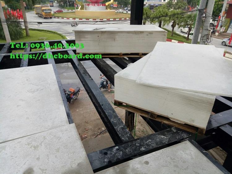 Tấm bê tông nhẹ cemboard, thay thế sàn gỗ bị mối mọt