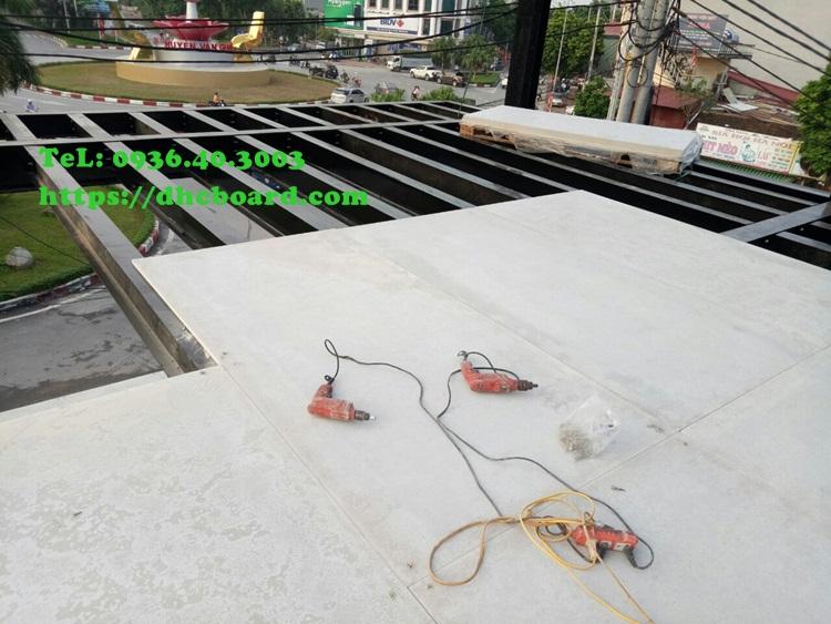 Tấm sàn bê tông nhẹ cemboard có khả năng chịu lực cao chịu nước