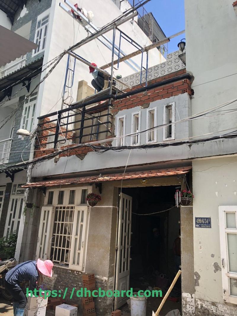 Chi phí nâng thêm tầng nhà phố giá rẻ nhất Hà Nội 2021