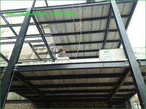 Giá tấm bê tông nhẹ bọt xốp EPS NUCEWALL làm sàn , tường nhẹ